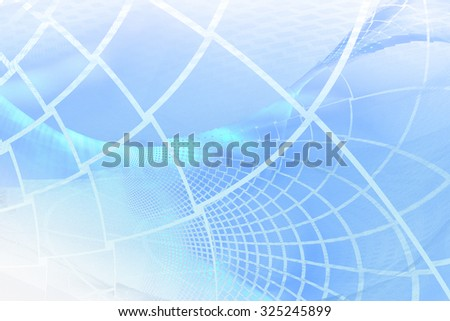 "Abstract background in turquoise and silver tones, reminiscent feeling of coolness. Very blurry textures, there is a ""grainy"" feel - stock photo"
