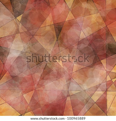 Abstract background in warm colors - stock photo