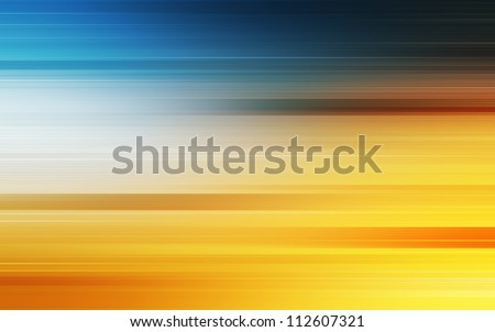 Abstract background in yellow and blue tones