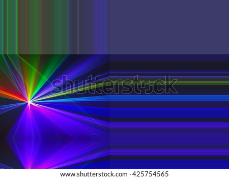 Abstract background Laser light multicolored for design