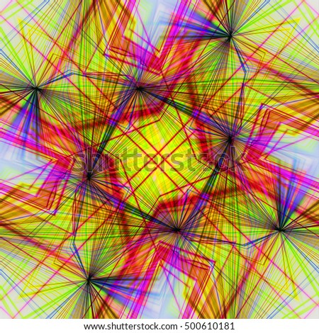 Abstract background Laser light multicolored for design , Pattern