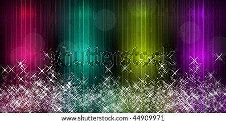 Abstract background light-Computational graphic - stock photo