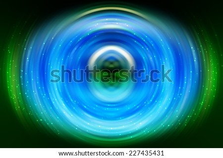 abstract background light lines. Crossing beautiful bright neon different lines creating beautiful fractal form. - stock photo