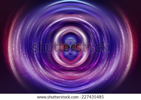 abstract background light lines. Crossing  bright neon multicolor different lines creating beautiful fractal form. - stock photo