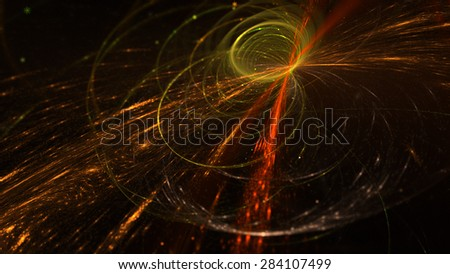 Abstract Background Lights Particles Rays