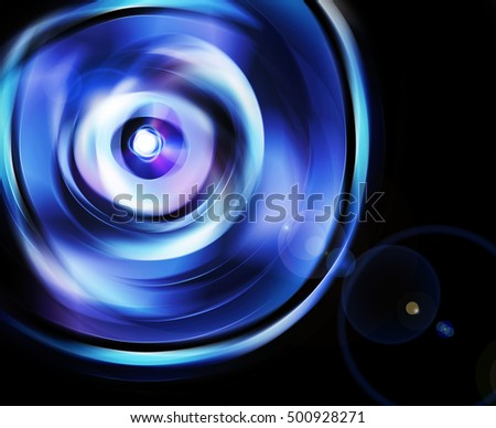 abstract background like beam refraction from lens, technology templates texture