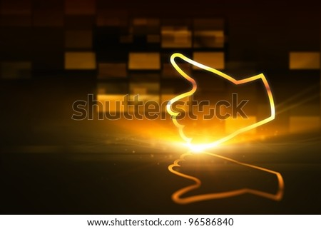 Abstract background- like symbol, concept of Internet social networks - stock photo