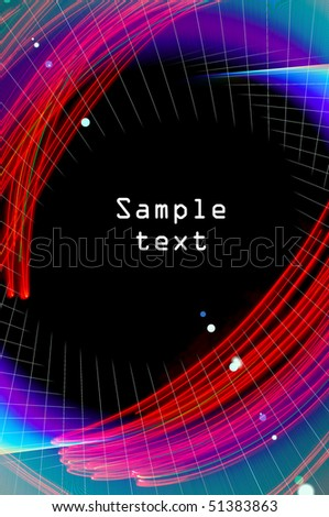 abstract background, made in the style freezelight with illustration components
