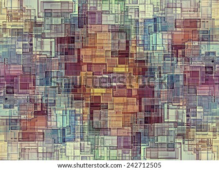 Abstract background made of color blocks