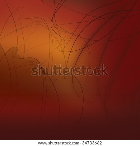 abstract background made of red lines
