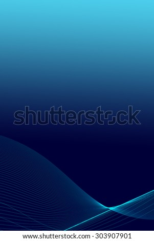 Abstract background made of very slim wavy lines. - stock photo