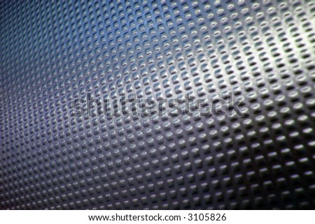 abstract background made with metal - stock photo