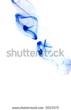 Abstract background made with smoke