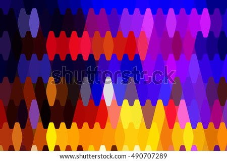 abstract background. multicolored mosaic illustration digital.