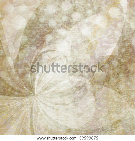 Abstract Background - Natural colored shapes collage with mottled texture and paper grain effect. - stock photo