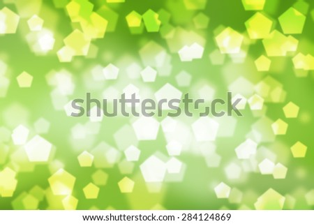 abstract background Nature tone bokeh Polygon - stock photo
