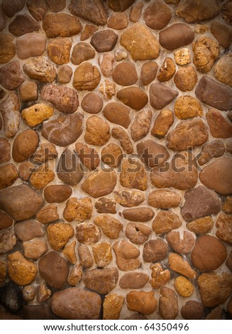 abstract background of a brick  flooring