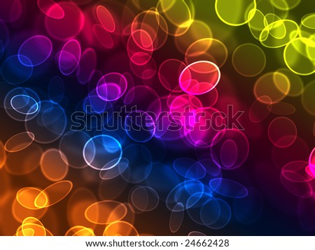 abstract background of beautiful holiday lights