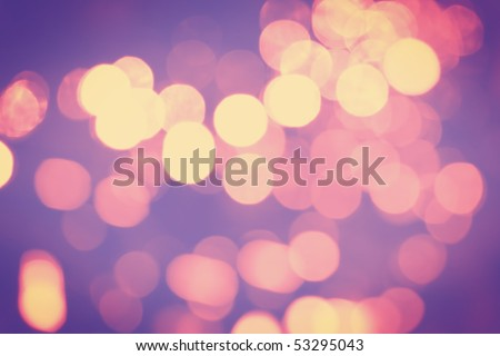 Abstract background of bokeh - stock photo