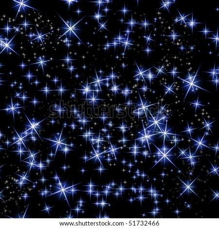 Black And Blue Stars Backgrounds bright blue stars on black