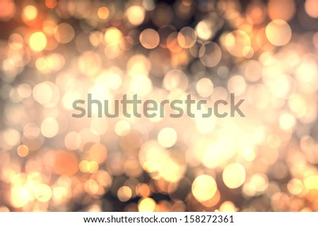 Abstract background of candlelights for Christmas - stock photo