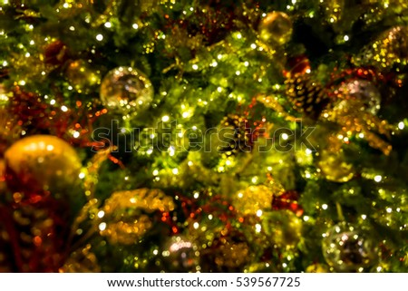 abstract background of Christmas