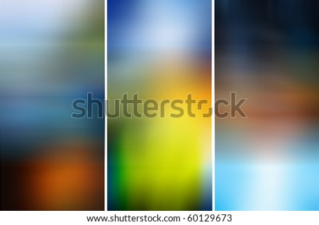 abstract background of collection business card - stock photo