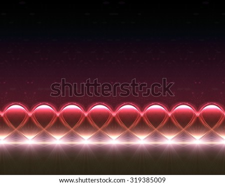 abstract background of color heart