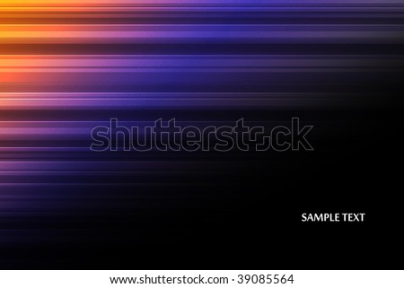 Abstract background of color lines.