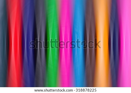 Abstract background of colorful stripes and blur - stock photo