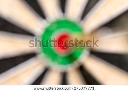 Abstract background of dart on target, bullseye - stock photo