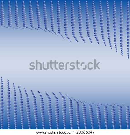 Abstract background of dots with space for text