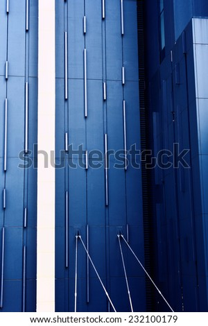 Abstract background of exterior building / Exterior building - stock photo