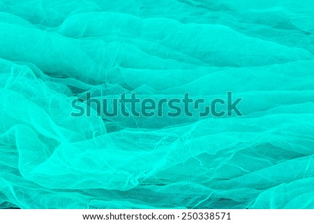 Abstract background of fishing net, fishing village, Vietnam, Southeast Asia - stock photo