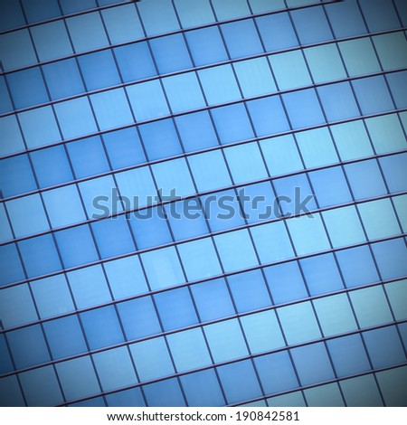 Abstract background of glass building`s windows
