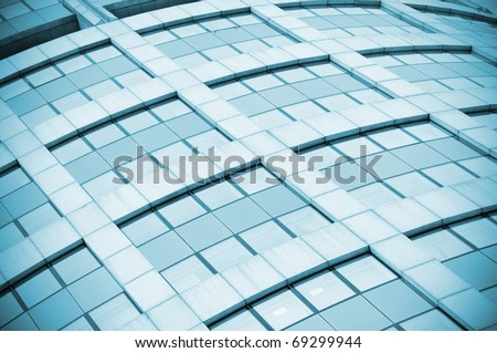 Abstract background of glass windows - stock photo
