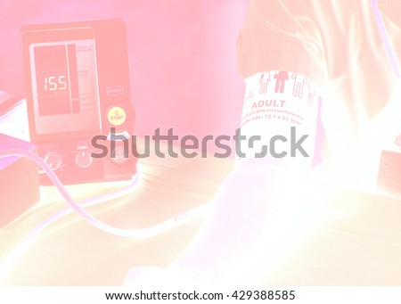 Abstract background of health check up - stock photo