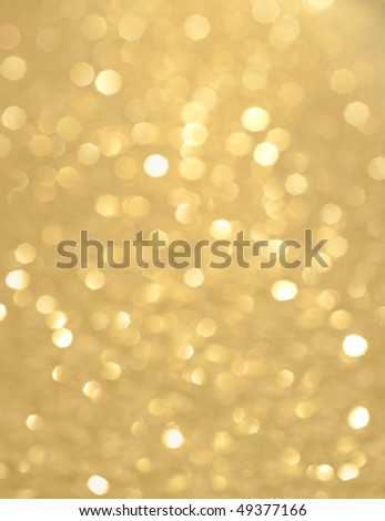 Abstract background of holiday glittering lights - stock photo