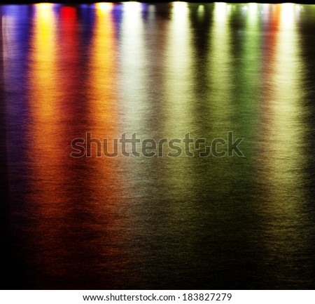 Abstract background of multicolored spots - stock photo