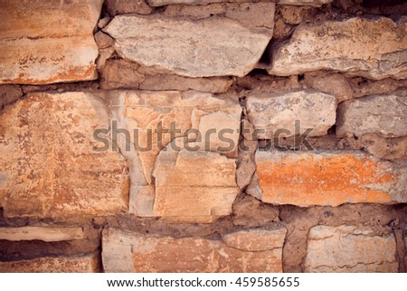 Abstract background of old stone wall