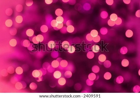 Abstract Background of Pink Lights - stock photo
