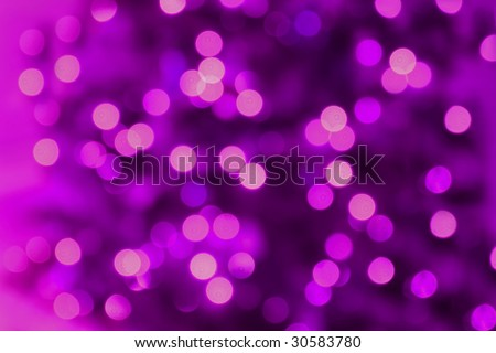 Abstract Background of Purple Lights - stock photo