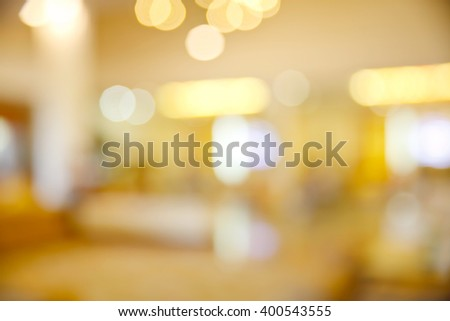 Abstract background of shopping mall. - stock photo