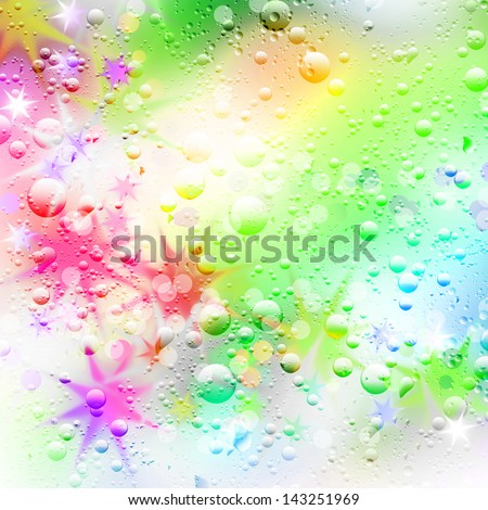 Abstract background of stars. - stock photo