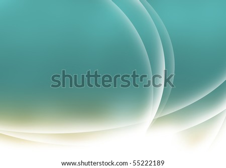 Abstract background of turquoise color - stock photo