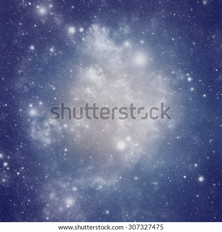 Abstract background of universe bodies. - stock photo