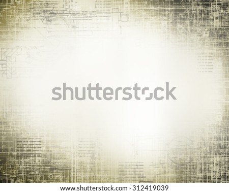 Abstract background old paper - stock photo