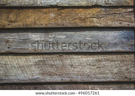 Abstract background old wooden wall.