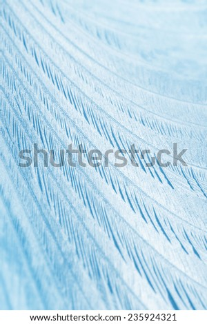 Abstract background on frosty glass - stock photo