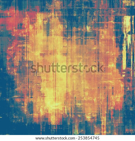 Abstract background or texture. With different color patterns: yellow (beige); brown; blue; red (orange) - stock photo